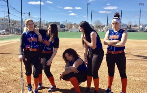 The Sizzlin' Softball Team