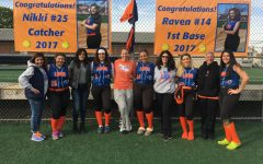 Senior Softball Players Say Farewell