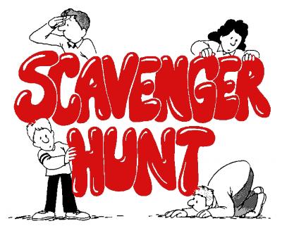 Rampage Scavenger Hunt!