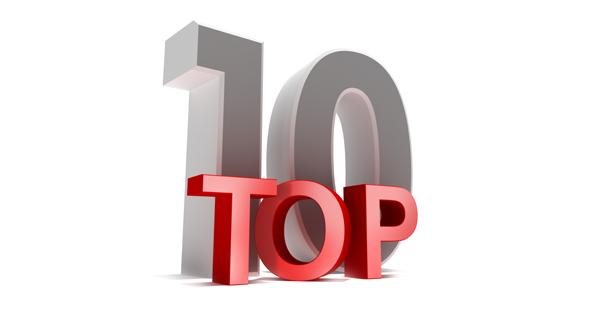 Top 10: 8, 7, & 6