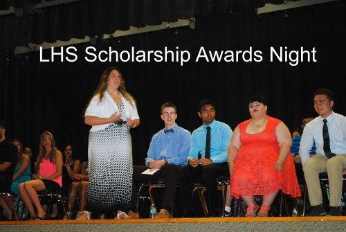 Scholarship Awards Night