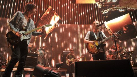 """Radiohead performing """"Burn the Witch"""""""