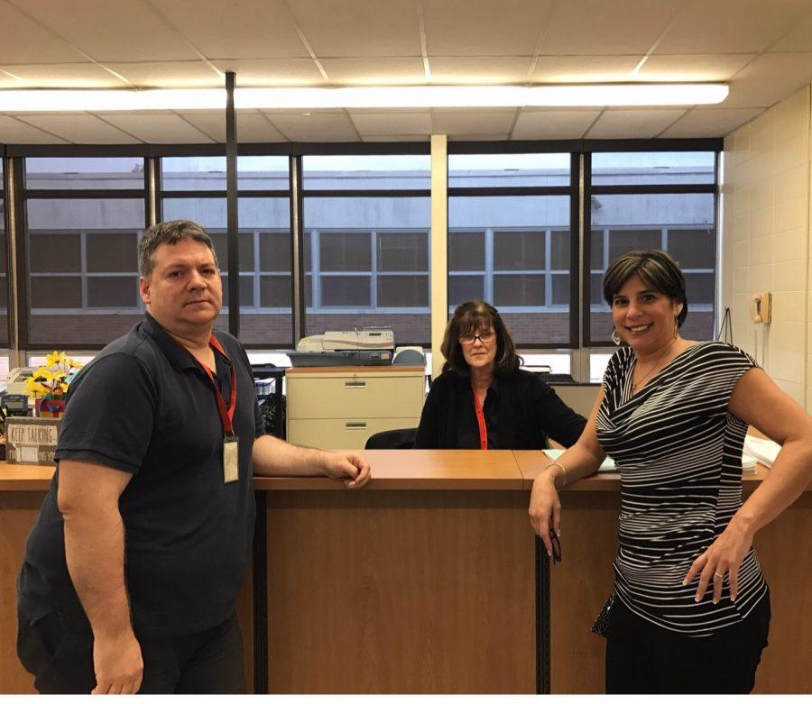 Lodi High School's Central Office secretaries