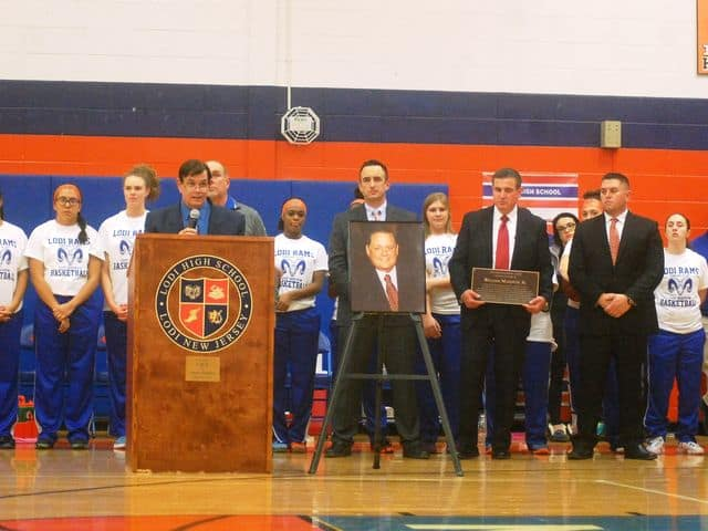 Welcome Home, Coach: Billy Masopust Court Dedication