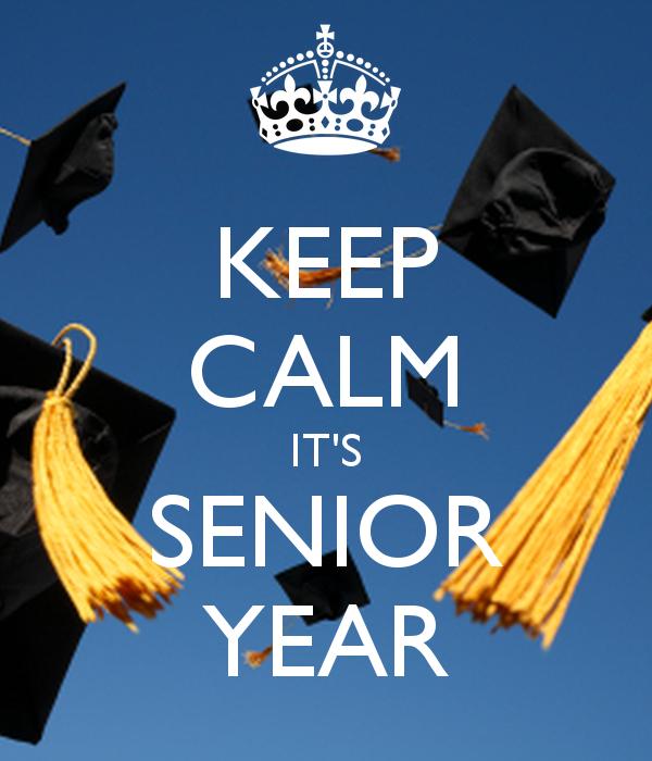 Senior Year: Beware