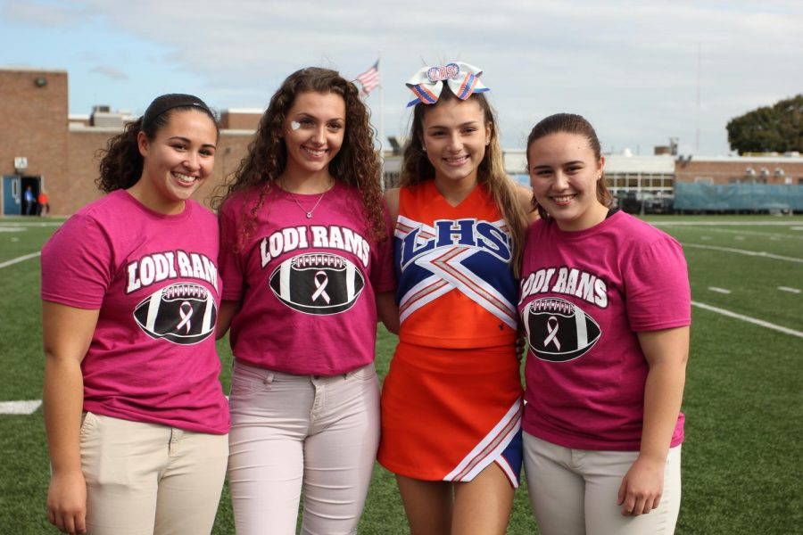 Homecoming Queen and her Court