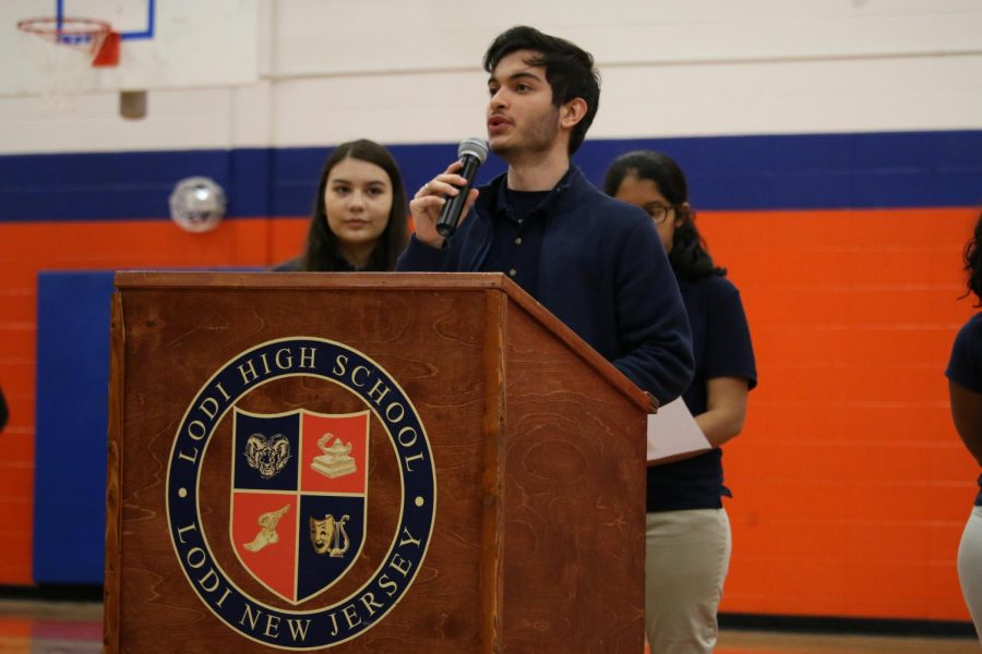 Andres Balvin inspiring his peers.