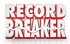 Breaking School Records