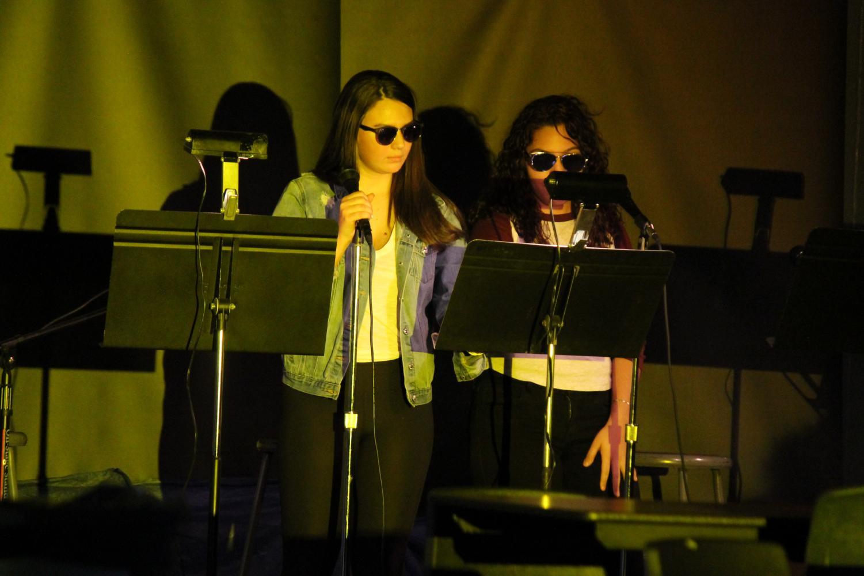 Brianna+Rojao+and+Sarah+Santana+perform+Lay+Me+Down
