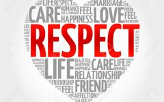 Respect: It's Not a Word, It's a Lifestyle
