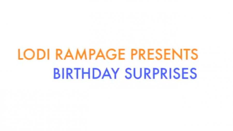 Birthday Surprise: Part Three