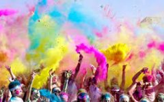 Color Outside the Lines: The Color Run