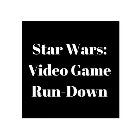 Star Wars: The Video Games Strike Back!