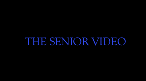 The Official Senior Video: Class of 2019