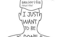 Symptoms of Senioritis