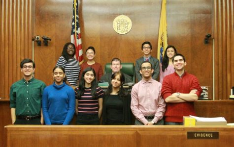 The LHS Mock Trial team