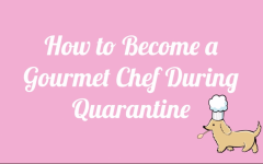 Becoming a Gourmet Chef During Quarantine