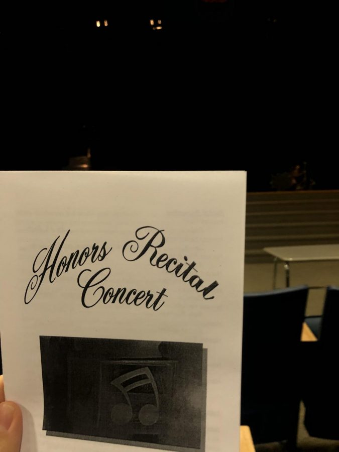 The+Honors+Recital+is+about+to+commence