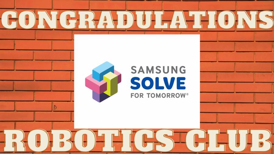 Congratulations Robotics Club!