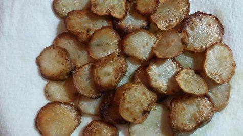 Unorganized Cooking: Sunchoke Crisps